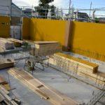 20121210一階外型枠建て込み(T邸)