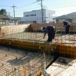 20121225二階スラブ配筋中(T邸)