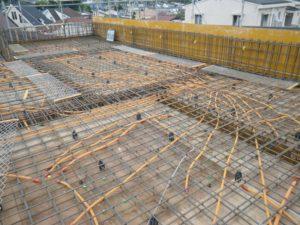 20140613_2階立ち上がりコンクリート打設